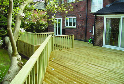 garden decking services in nottinghamshire